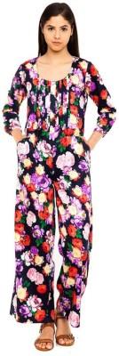 Mansa Floral Print Women's Jumpsuit
