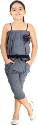 Naughty Ninos Solid Girl's Jumpsuit