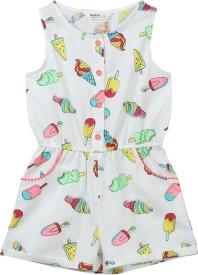 Beebay Printed Girl's Jumpsuit