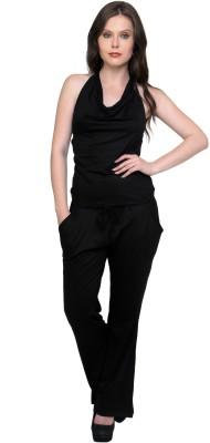 Cottinfab Solid Women's Jumpsuit at flipkart