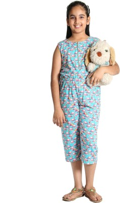 Paul & Doll Self Design Girls Jumpsuit