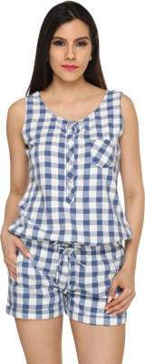 Bombay High Checkered Women's Jumpsuit