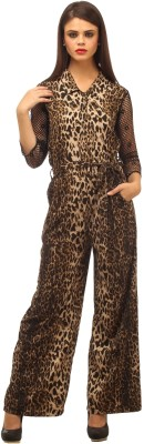 Cottinfab Animal Print Women's Jumpsuit at flipkart