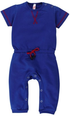 Oye Solid Baby Girl's Jumpsuit