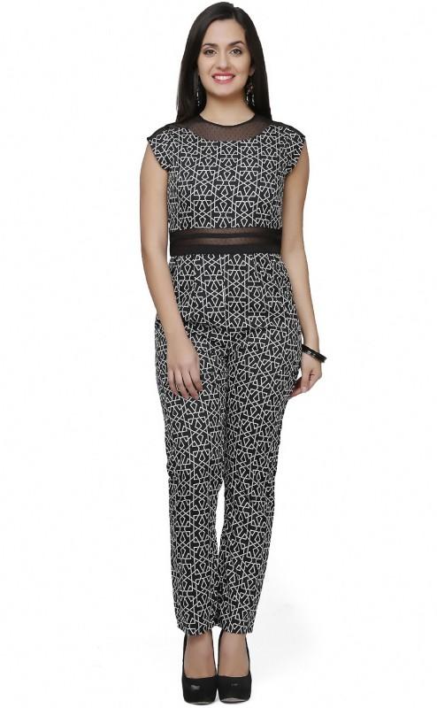 Eavan Geometric Print Women's Jumpsuit