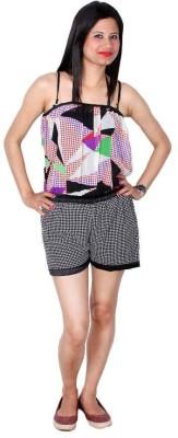 Fabrizia Geometric Print Women's Jumpsuit