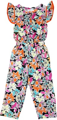 ShopperTree Printed Girls Jumpsuit