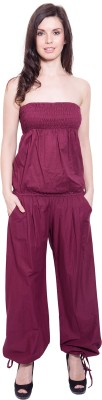 Tuntuk Solid Womens Jumpsuit