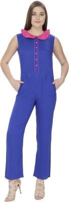 Pops n Pearls Solid Women's Jumpsuit