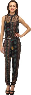 Cottinfab Printed Women's Jumpsuit at flipkart