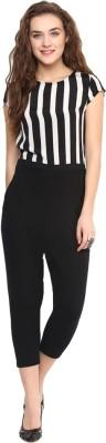 Fashion By Netanya Striped Women's Jumpsuit