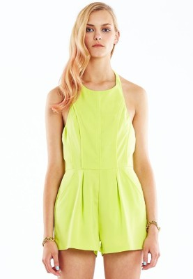 Minty Meets Munt Solid Women's Jumpsuit