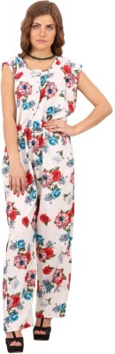 MadeinMyIndia Floral Print Women's Jumpsuit
