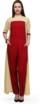 Eavan Solid Women's Jumpsuit at flipkart