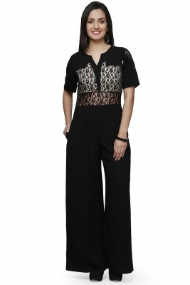 Eavan Self Design Women's Jumpsuit at flipkart
