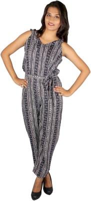 True Fashion Geometric Print Women's Jumpsuit