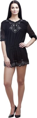 MansiCollections Embroidered Women,s Jumpsuit