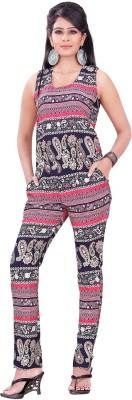 Dream Fashion Printed Women's Jumpsuit