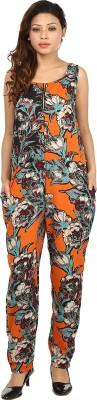 G & M Collections Floral Print Women's Jumpsuit