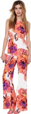 Fromycloset Floral Print Women's Jumpsuit