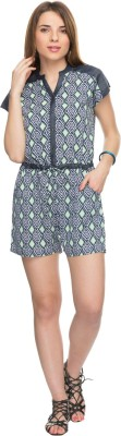 Tarama Geometric Print Women's Jumpsuit