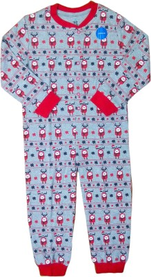 Instyle Printed Girl's Jumpsuit