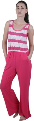 Vixenwrap Striped Women's Jumpsuit