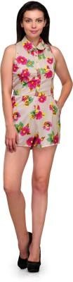 Zachi Floral Print Women's Jumpsuit