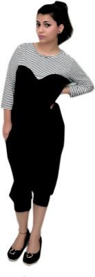 Zweena Striped Women's Jumpsuit