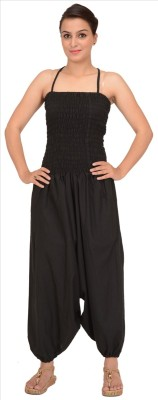 Skirts & Scarves Solid Women,s Jumpsuit