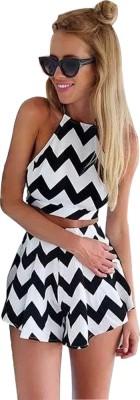 Jaune Checkered Women's Jumpsuit