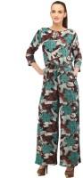 Cottinfab Floral Print Women's Jumpsuit