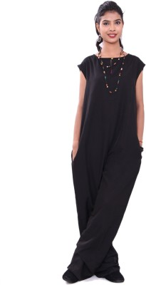 Lifestyle Preview Solid Women's Jumpsuit at flipkart