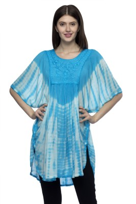 One Femme Embroidered Viscose Women's Kaftan