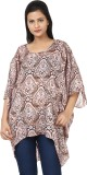Tops and Tunics Printed Polyester Women'...