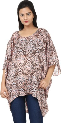 Tops and Tunics Printed Polyester Women's Kaftan
