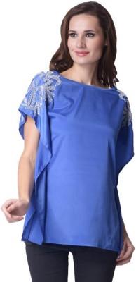 Trendy Divva Self Design Polyester Women's Kaftan