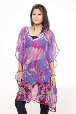 fashlovers Printed shiffon Women's Kaftan