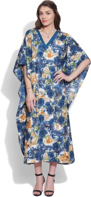 Very Me Floral Print Cotton Women's Kaftan