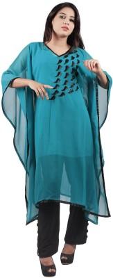 Taraz Embellished Georgette Women's Kaftan