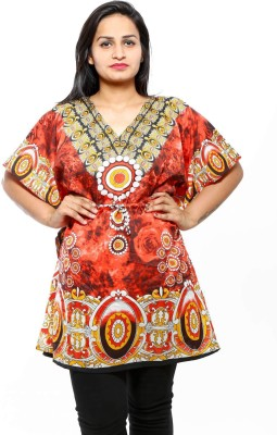 fashlovers Printed crepe Women's Kaftan