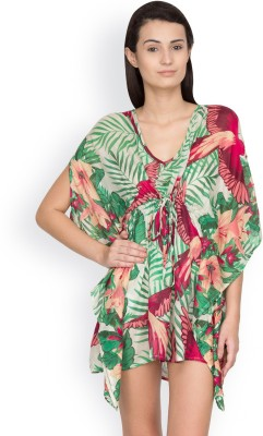 Citypret Floral Print Viscose Women's Kaftan