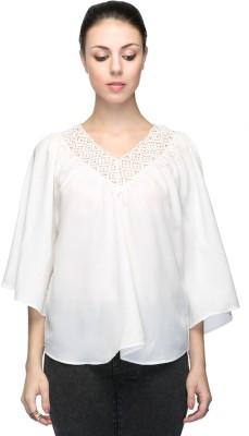 Aaliya Solid Polyester Crepe Women's Kaftan