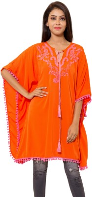Eleganceranuka Embroidered Cotton Women's Kaftan