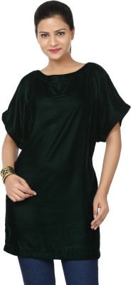 Tops and Tunics Solid SILK Women's Kaftan