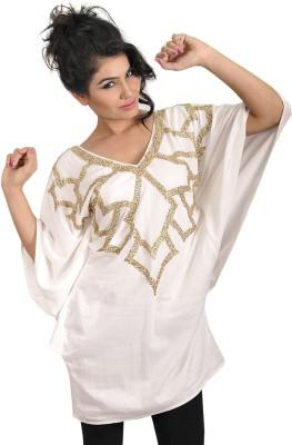 My Hollywood Shop Embellished 100%cotton Women's Kaftan