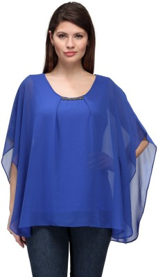 FW Collection Solid Polyester Women's Kaftan