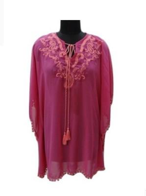 Eleganceranuka Embroidered GEORGETTE Women's Kaftan
