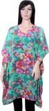 Hanlax Floral Print georgette Women's Ka...