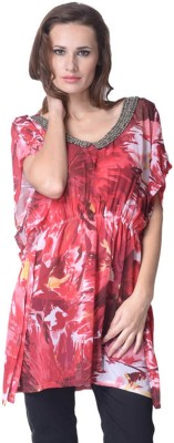Trendy Divva Printed Polyester Women's Kaftan